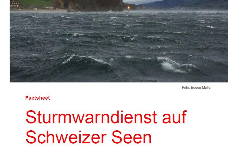 Sturmwarndienst MeteoSchweiz